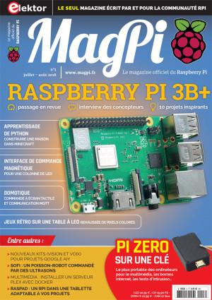 Tout ce qu'il faut savoir sur le Raspberry Pi 3B+.
