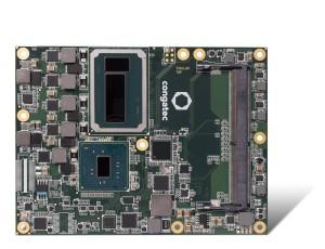 Le module conga-TS170 est équipé du nouveau processeur Intel Xeon E3-1515M v5 en 14 nm et du chipset Mobile Intel CM236.