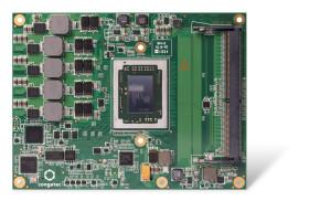 Le nouveau module conga-TR3 équipé d'un SOC AMD G-Series apporte jusqu'à + 30% de performances graphiques et de la RAM DDR4 rapide.