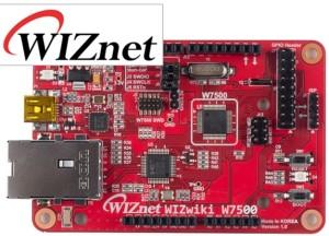 La carte WIZwiki-W7500 de WIZnet.