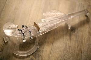 Esthétique et personnalisable, le 3DVarius pèse le même poids qu'un violon traditionnel.