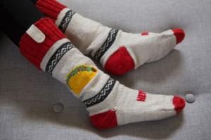 Avec ces chaussettes, vous connaîtrez toujours le nom de l'assassin.