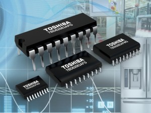 Réseaux de transistors Toshiba.