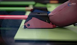 Bornes à ressort pour montage sur platine. Illustration: Metz Connect.