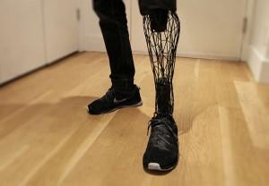 Prothèse skeuomorphique imprimée en 3D
