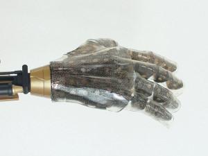 Une peau artificielle dotée du toucher
