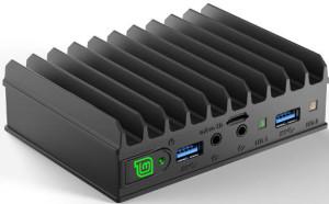 Mini-PC quadricœur sans ventilateur sous Linux Mint