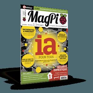Parution du cinquième numéro du MagPi (novembre-décembre 2018)