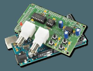 Article Elektor gratuit : pisteur de tension avec Arduino sur un oscilloscope