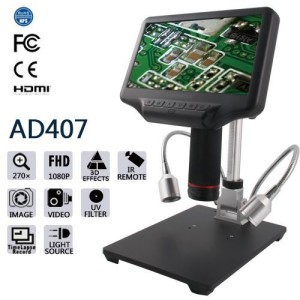 Banc d'essai : microscope USB Andonstar AD407