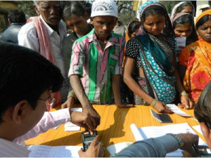 Le système d'identification biométrique Aadhaar.