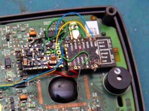 Montage du module ESP12 sur le CI du Fluke.