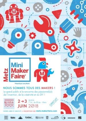 Du nouveau dans l'Est : mini Maker Faire de Metz