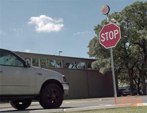 Signalisation (inter)active  et économique pour la sécurité routière