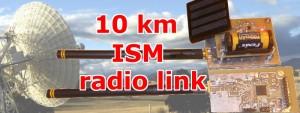 Transmettez vos données par radio. Portée : 10 km