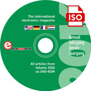 DVD annuel Elektor, millésime 2016 – téléchargement réservé aux abonnés