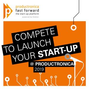 Concours productronica Fast Forward 2019 : placez votre start-up en pleine lumière
