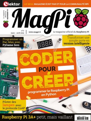 Parution du MagPi n°7 (mars-avril 2019)