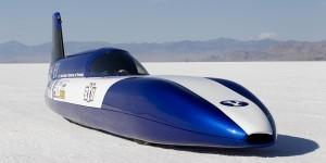 Snelheidsrecord voor elektrische auto