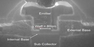 Supersnelle bipolaire transistor werkt tot 450 GHz