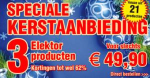 Niet vergeten: nog t/m 31-12 drie Elektor-producten voor € 49,90