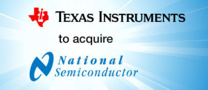 Texas Instruments neemt National Semiconductor over