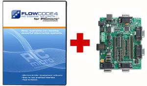 Gratis E-blocks Multiprogrammer bij aankoop van Flowcode 4 voor PIC