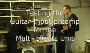 Digitaal multi-effect apparaat op YouTube