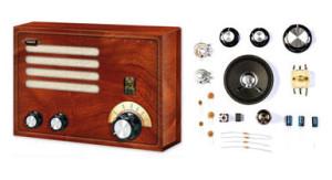 Nostalgie: bouw uw eigen buizenradio