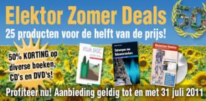 Elektor Zomer Deals: diverse producten tijdelijk voor de helft van de prijs