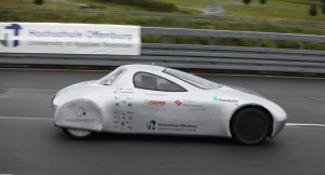 Nieuw afstandsrecord met elektrische auto