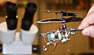 Wedstrijd voor slimme micro-vliegtuigjes