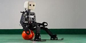 Humanoïde open-source voetbalrobot