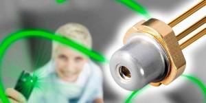 Laserdiode levert groen licht zonder omwegen