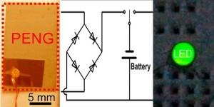 Pyroelektrische nanogenerator voor energy harvesting