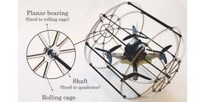 HyTAQ robot rijdt, vliegt en springt