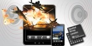 3D-stereo geluidsbeeld voor smartphones en tablets
