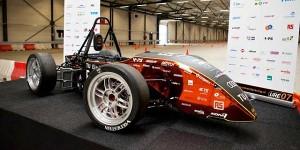 Nieuwe elektrische raceauto voor TU/e-team