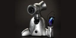 Muzikale robot voor smartphone