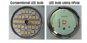 Non-polar LED is vijf keer helderder