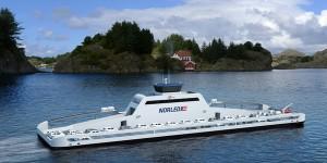 Eerste volledig elektrisch aangedreven veerboot