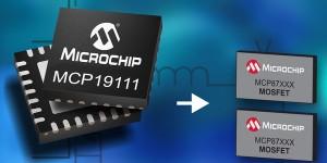 Eerste analoge voedingsregeling met geïntegreerde microcontroller