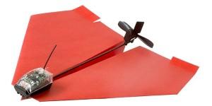 Motor voor papieren vliegtuigjes