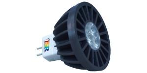 Kleinste draadloos bestuurde LED-lamp