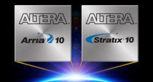 Tiende generatie FPGA's en SOC's van Altera