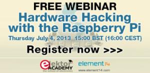 Elektor-webinar: Hardware-hacking met de Raspberry Pi