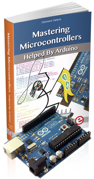 Nieuw Elektor-boek: Mastering Microcontrollers helped by Arduino