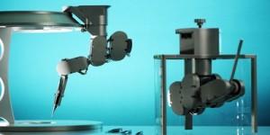 Microchirurgierobot met zeer vaste hand