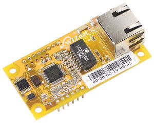 WIZ550io Ethernet-controller-modules snel weg