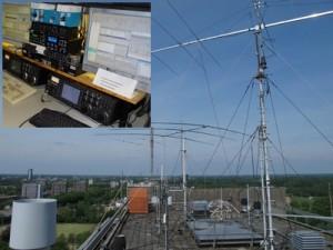 Geen (onder)dak meer voor amateur-radiostation TU/e